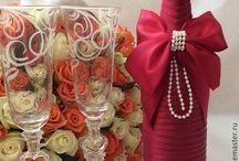 borcane/sticle decorate