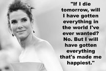 The Love Quotes Celebrity Quotes : Bits of wisdom from Sandra Bullock…