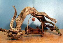 Droe hout