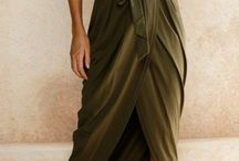 Women elegant style, natural colors