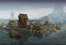 Medieval harbour