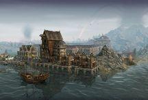 Medieval harbour