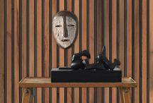 Timber Strips Wallpaper by Piet Hein Eek
