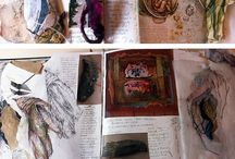 Sketchbooks / Sketchbooks/collage/drawing / by Angela Smith