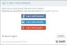 Social Login, AKA Social Sign-In / #SocialLogin  #SocialSignIn