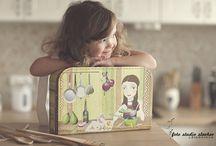 Děti - kufříky, úložné boxy, hračky / Roztomilé kufříky, praktické boxy na hračky, šperkovnice a jiné výrobky z lepenky od českého výrobce Kazeto.