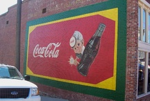 Coca Cola Signs / Ads / Love Coca Cola and have always loved their advertising. Here are some of my favorites. / by Velta Thomas