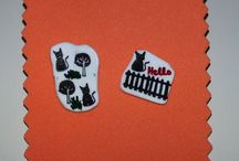 AUTUM #HandKat / Every picture is hand drawn and hand colored (with waterproof ink and pencils) by me on shrink plastic.   I draw each picture by hand every time and then carefully cut out and finally heated with love.   Keep in mind that every piece is unique!  I also do CUSTOM DESIGNS. If you don't see what you're looking for, send me a description along with your budget.  ✈ FREE Shipping WORLDWIDE ✈  It makes a perfect Birthday present!   You can visit my shop at....