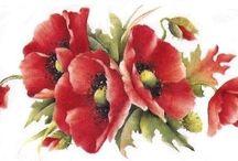 grafika kwiaty