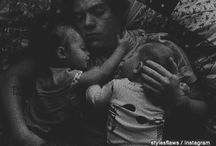 Harry Styles and babies