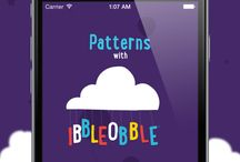 Patterns with Ibbleobble / Patterns with Ibbleobble is an exciting method of helping children of all ages to learn patterns. This app will help them to understand repetition and familiarity, allowing them to recognise order and make predictions. #iblobl #love#happy #appsforautism #autism #mums #parents #kids #children #apps #education #development #fun #characters #learning #school #ibbleobble #learn #educate #apps #app #iphone #ipad #IOS #design #brand #branding