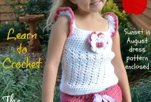 Crochet 4 Baby and Toddler / I love to crochet 4 babies and little ones. There is always so many things you can make in crochet. Plus you know it is a one of a kind gift from the heart.