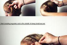 Причёска дочке