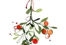 Jul - illustrasjon og kort