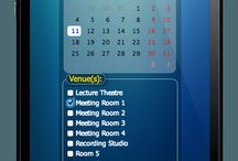 Room Scheduling for your iPhone / Room Booking and Resource Scheduling for your iPhone, Android, or Windows Phone mobile device / by MIDAS