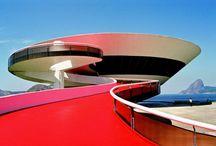 """Surprise is key in all art. / """"Form follows beauty.""""  Oscar Niemeyer"""