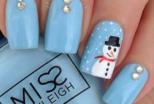 Kerst Nail art