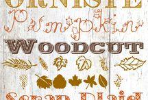 Tipografías /diseño / tipoes de letras q nos pueden servir para hacer carteles y otros trabajos
