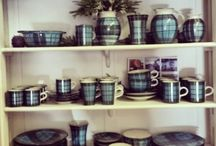 Stonewear / Local hand made pottery in exclusive Croft design.