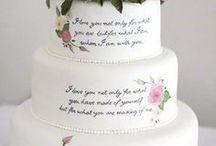 tarta fondan flores pintadas