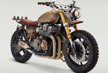Cafe racer / Bikes / by Ray Chow