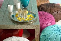 Moroccan Pouffe Inspiration