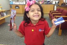 My First Library Card / We can't resist pictures of happy people showing off their library cards!