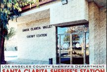 Santa Clarita Valley Sheriff's Station / 23740 Magic Mountain Parkway, Valencia CA. 91355- Phone (661) 255-1121 / by Los Angeles County Sheriff's Department
