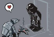 Star Wars Funny. / Has funny Star Wars art.