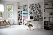home // office space / by Angie Warren
