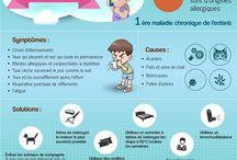 """Infographies """"Santé de l'enfant"""""""