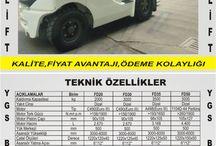 """YGS FORKLİFT """"GÜÇLÜ TÜRKİYE'NİN GÜÇLÜ MARKASI"""""""