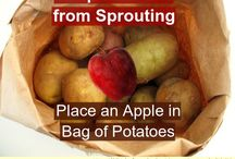 Food Storage- Hacks, Tips, and Tricks / Use these great ideas to keep your food fresh for longer.