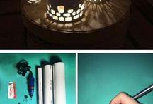 PVC lampy
