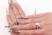 Nails by Albina Maria Garcia Garrido / Nails made by Albina Maria Garcia Garrido