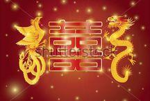 symbole chińskie, kaligrafia, sztuka