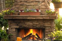 Outdoor Fireplace  / by Tammy Rosen