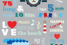 First Birthday party ideas / Personalized milestone boards for a child's first Birthday!