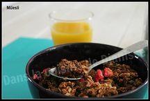 Mes recettes - Granola, muesli, porridge & Cie