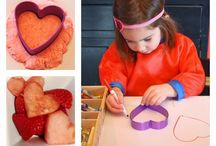 Valentines activities for the kids.
