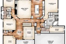 HOUSE PLANS / HOUSE LAYOUTS