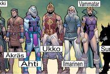 Fantasy : Mythology : Finnish