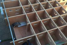 Mobile bench ideas.
