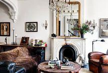 Antique modern lounge