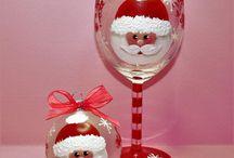 Glass folk art
