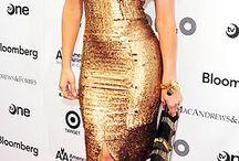 Celebrity Formals - Gold, Brown, Nude
