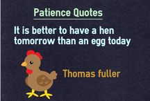 Patience Quotes / 0