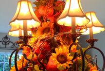 fall decorations for ho.e