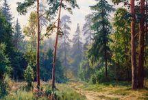 Лес, лето, солнце, хвоя...