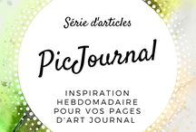 Tutos artjournal Jijihook (Picjournal)